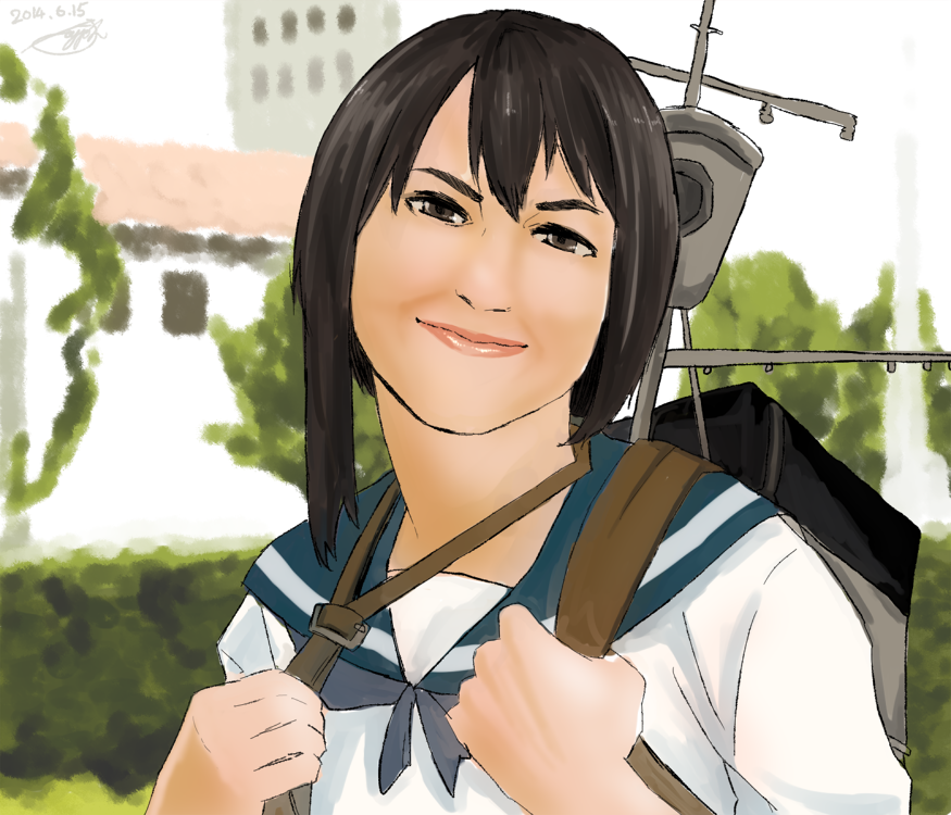 copyrighted.kancolle.1draw.20140615_fubuki_trace.png