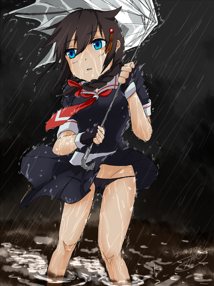 copyrighted.kancolle.1draw.20140707_shigure_addDraw.png